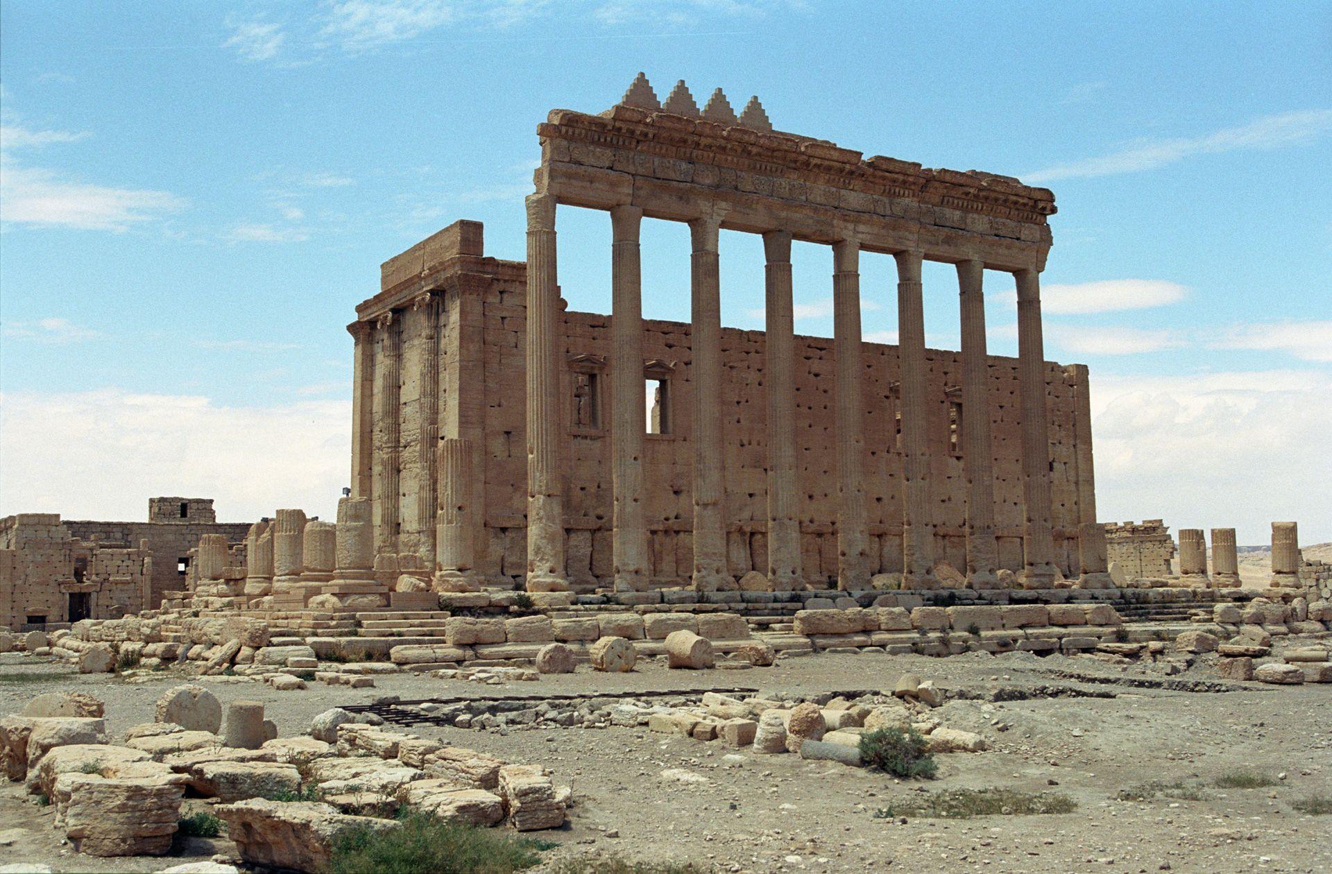 Les combattants de l'Etat islamique se sont emparés de la cité antique de Palmyre le 21 mai 2015.