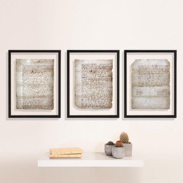 La reproduction en trois tableaux du rare testament de Shakespeare, proposée par les éditions des Saint Pères