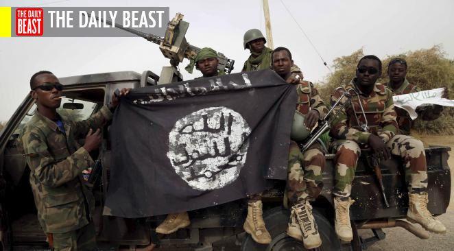 Des soldats du mouvement djihadiste Boko Haram.