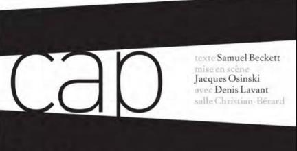 """""""Cap au pire"""" : Beckett, pour le pire ou presque, malgré Denis Lavant"""