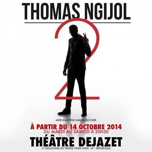 Thomas Ngijol au Théâtre Déjazet
