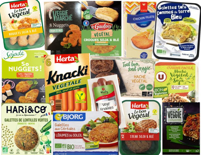 Que valent les produits végétariens ?