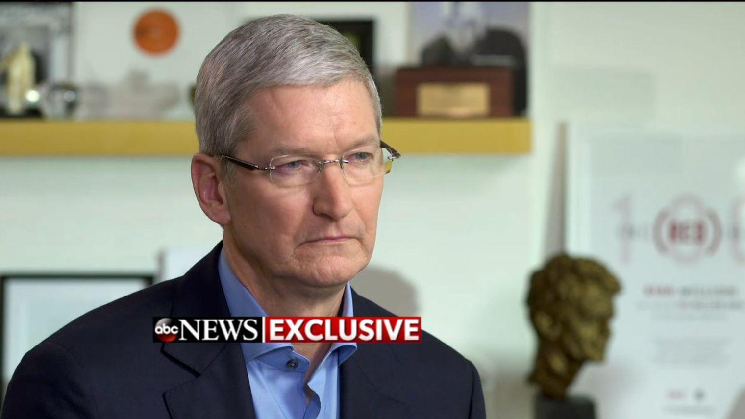 Apple : Tim Cook persiste et signe dans son bras de fer avec le FBI