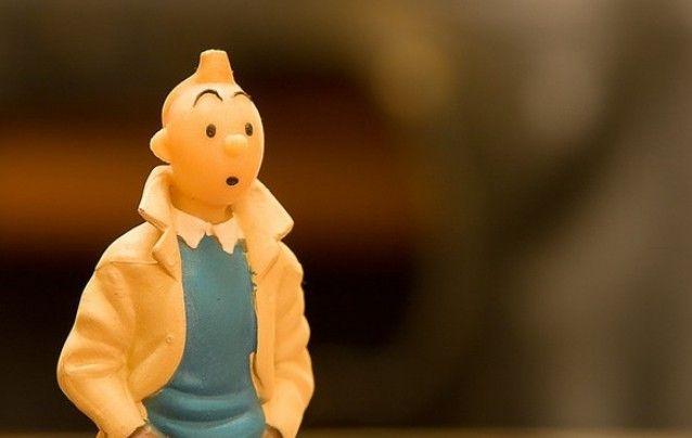 """Voici la nouvelle couverture de """"Tintin au pays des Soviets"""""""