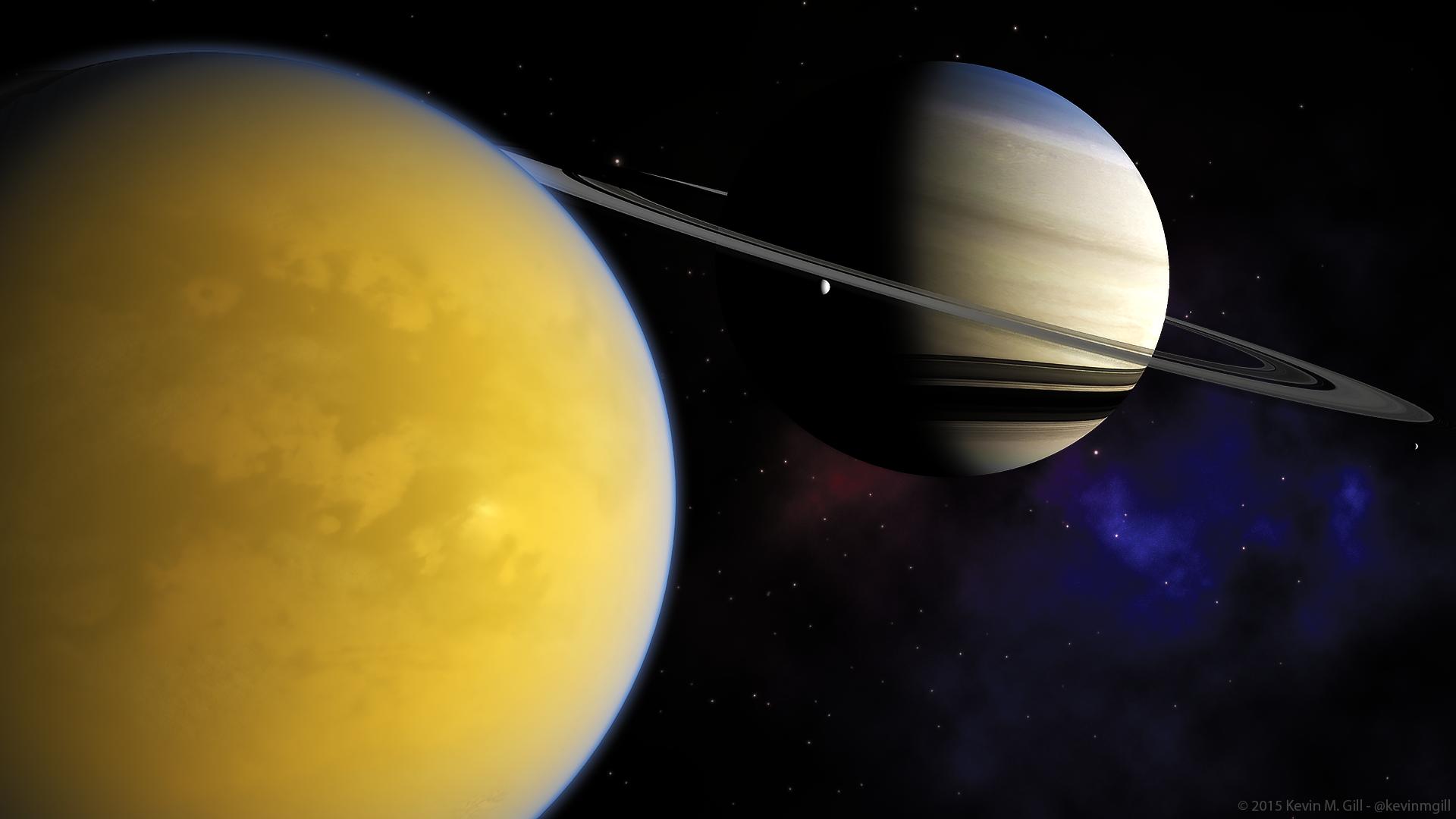 Saturne : Cassini va mettre fin à 20 ans de service
