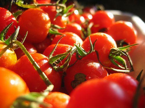 Les tomates sont bonnes pour la peau grâce au béta-carotène.