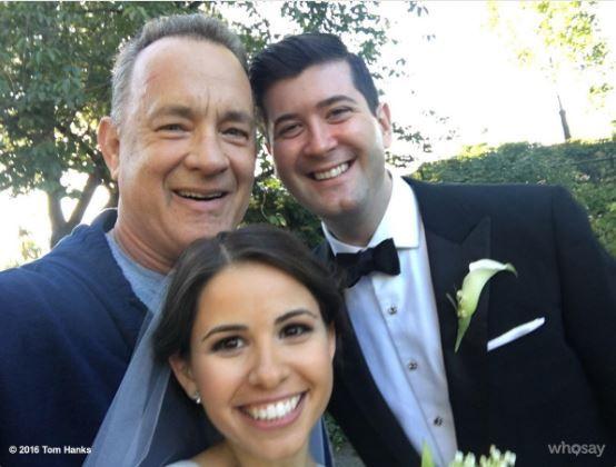 Quand Tom Hanks fait une surprise aux jeunes mariés