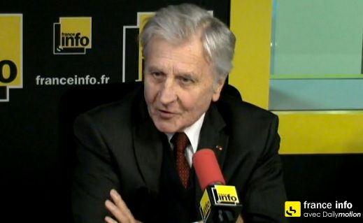 """Jean-Claude Trichet : """"Tous les contribuables européens sont les amis de la Grèce"""""""