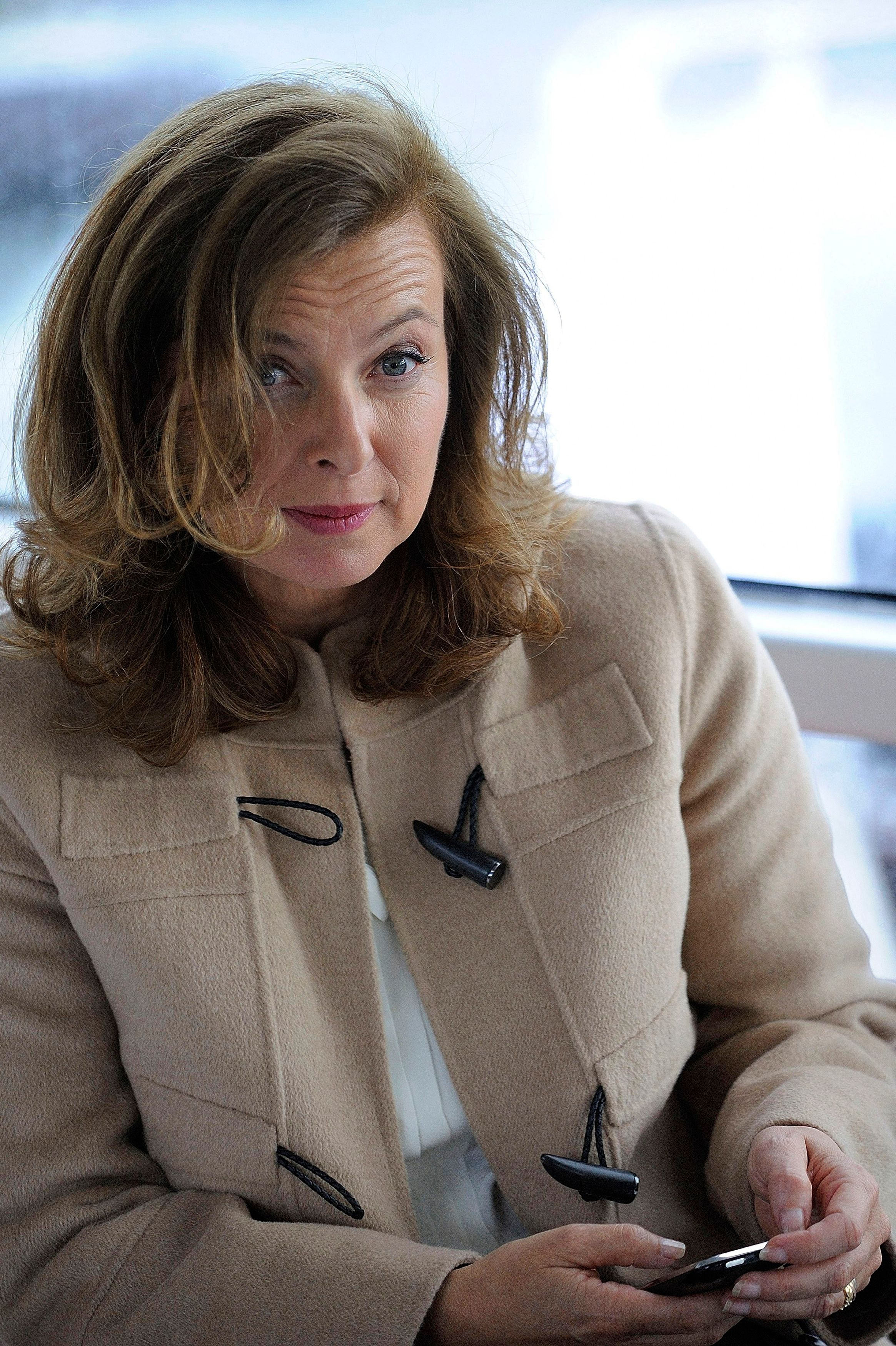 Valérie Trierweiler, la première dame