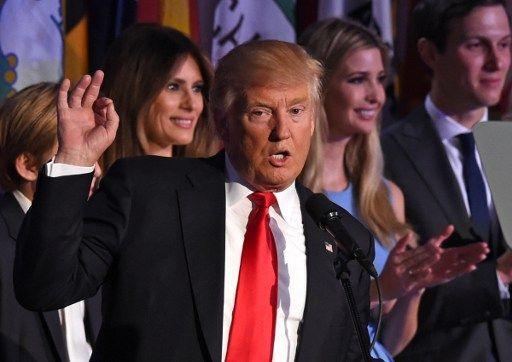 États-Unis : discours de victoire sobre et rassembleur de Donald Trump