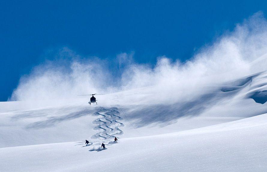 Les chutes à ski peuvent être très graves.
