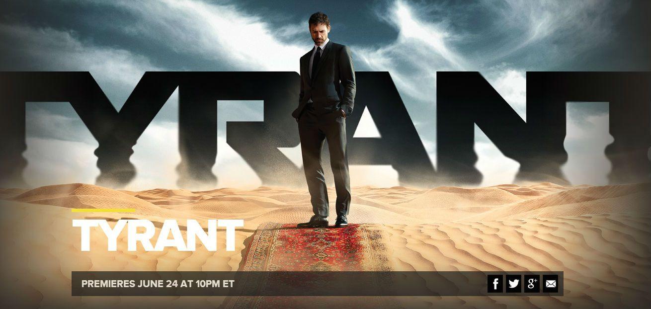 Tyrant en ondes le 24 juin prochain sur FX.