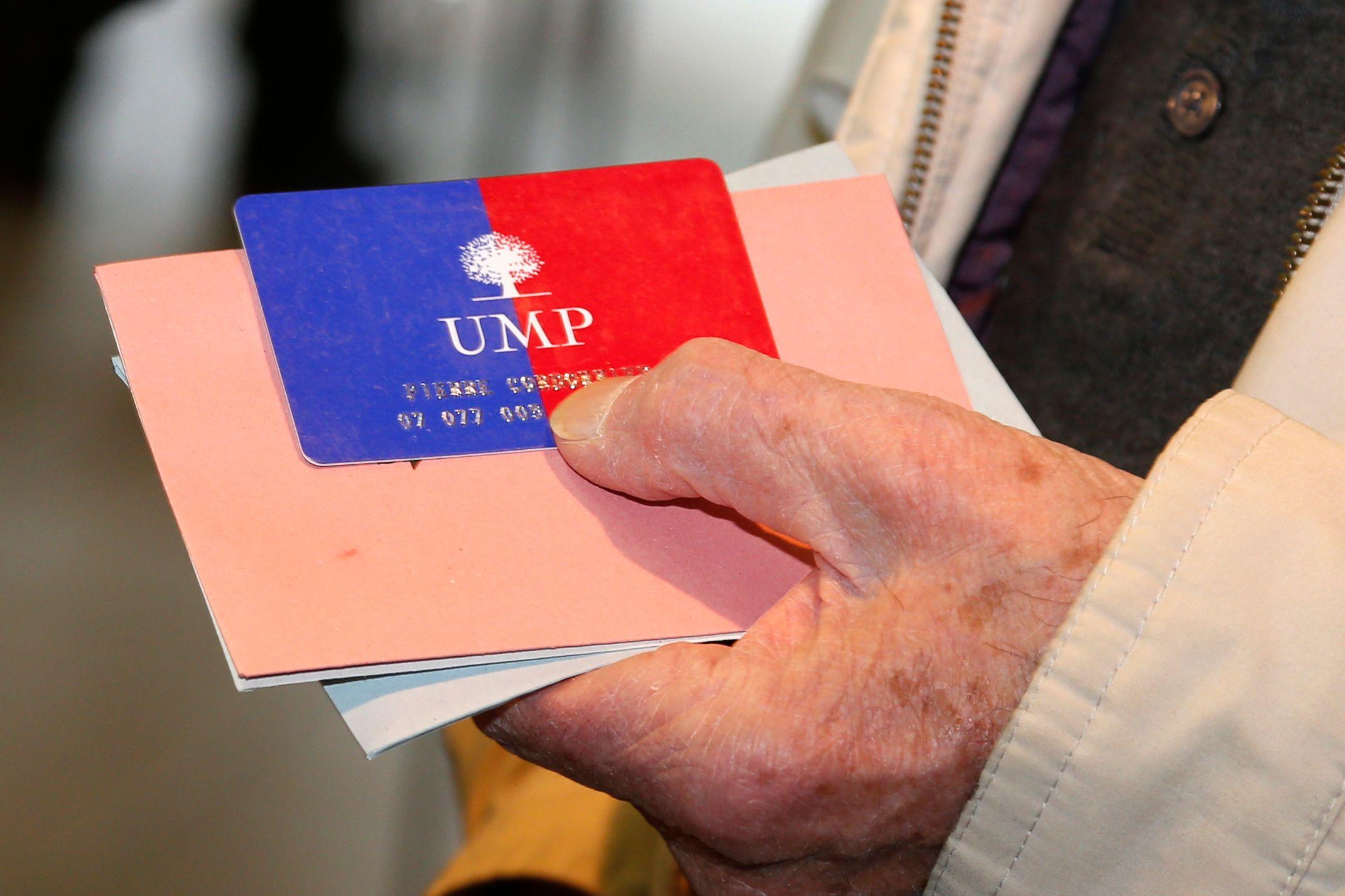 La semaine dernière l'UMP a accueilli 2 600 nouveaux adhérents