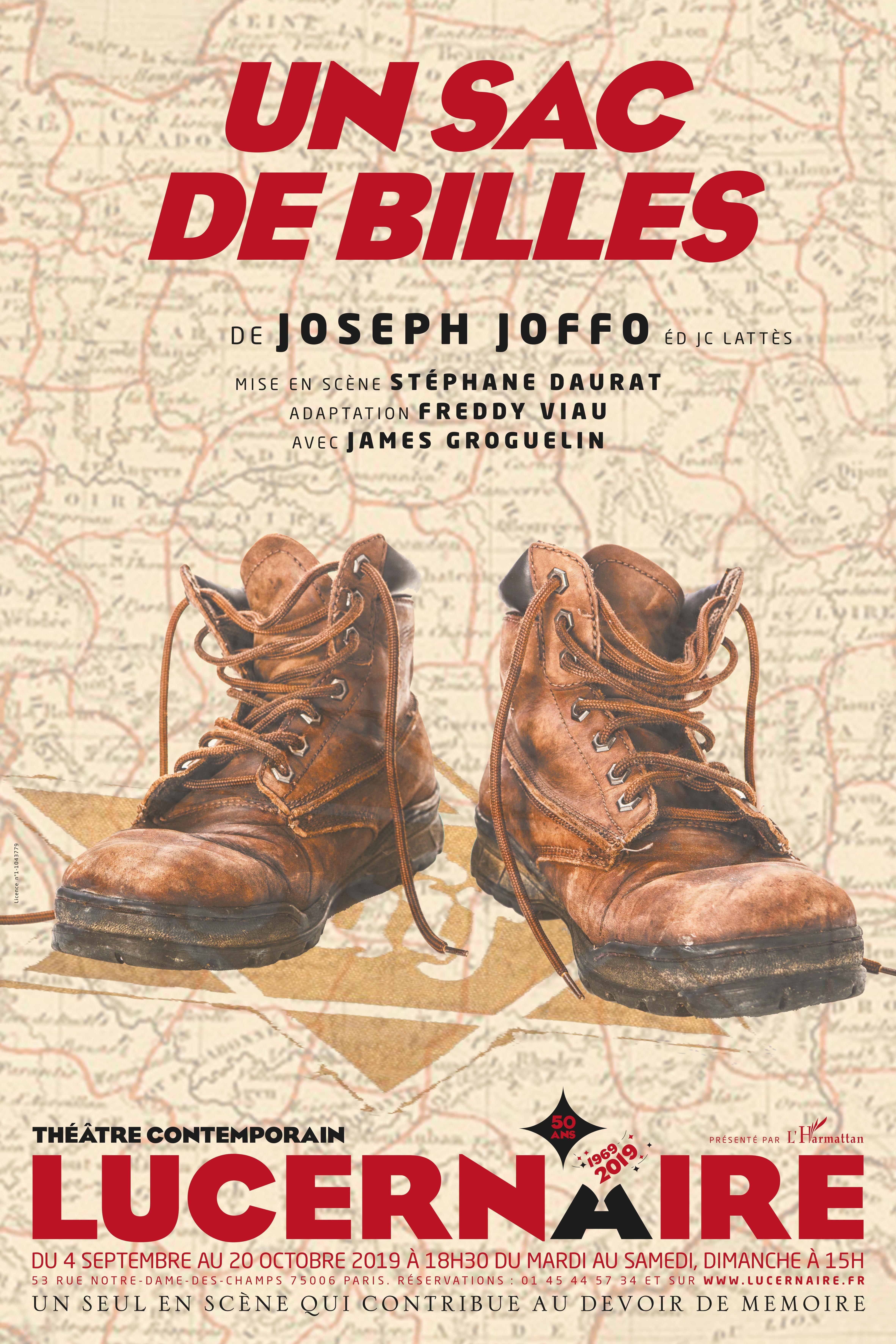 """""""Un sac de billes"""" de Joseph Joffo, mise en scène de Stéphane Daurat : interprétation magistrale"""
