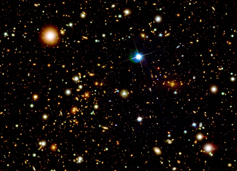 L'image représente l'Univers quand il n'était âgé que de 380 000 ans