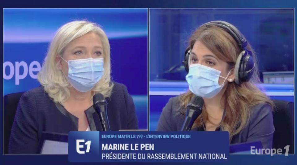 Marine Le Pen Rassemblement national éducation nationale