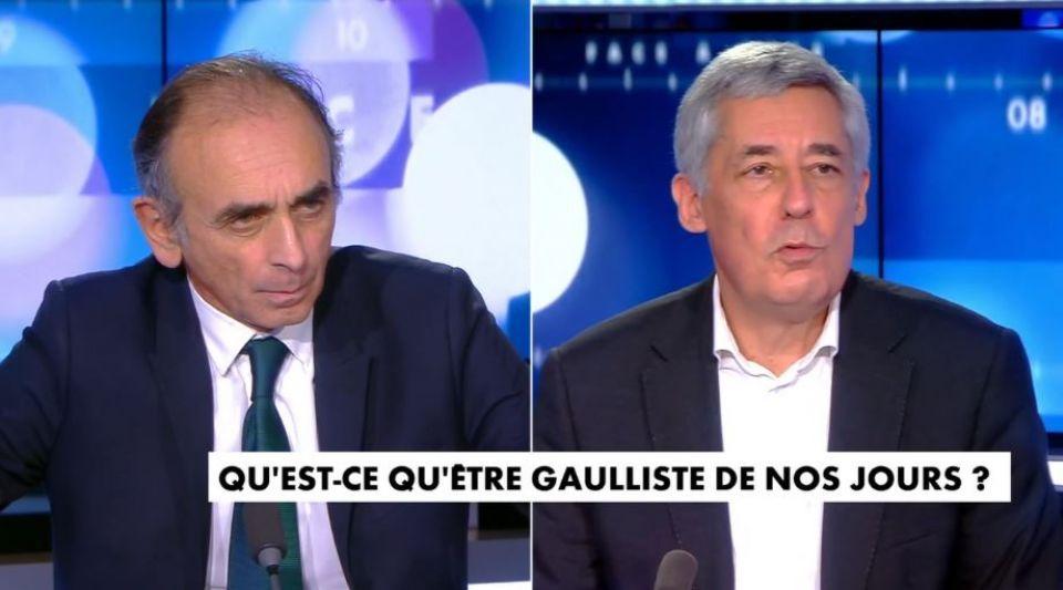 Henri Guaino Eric Zemmour Christine Kelly Face à l'info débat général de Gaulle Gaullisme héritage