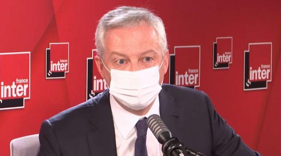 Bruno Le Maire économie France Inter crise économique coronavirus covid-19