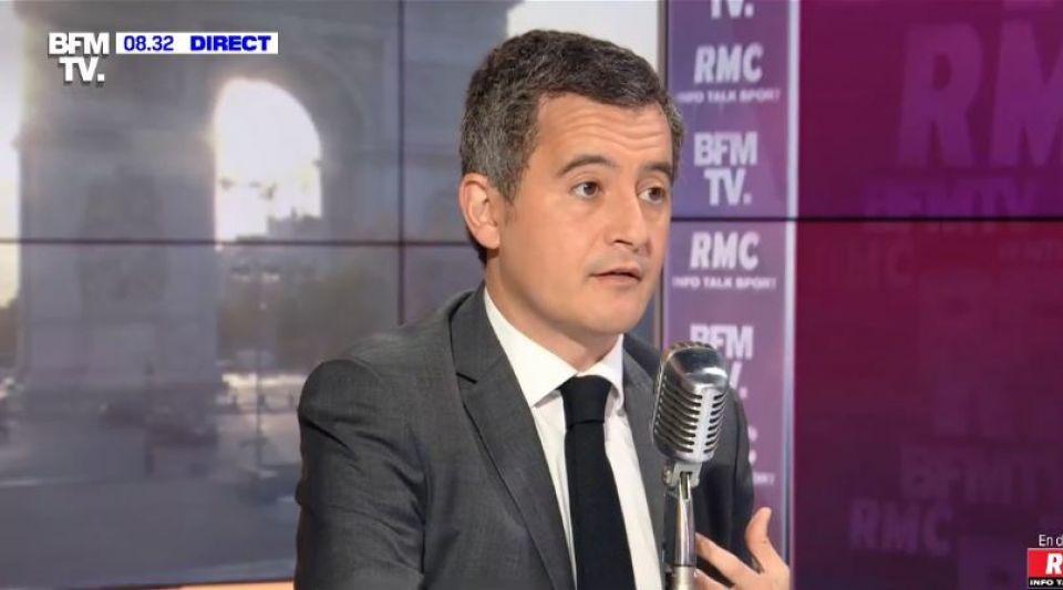Gérald Darmanin ministre de l'intérieur