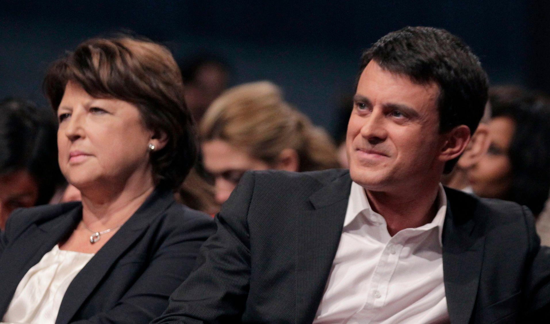 Manuel Valls s'en prend à Martine Aubry à propos de la réforme territoriale