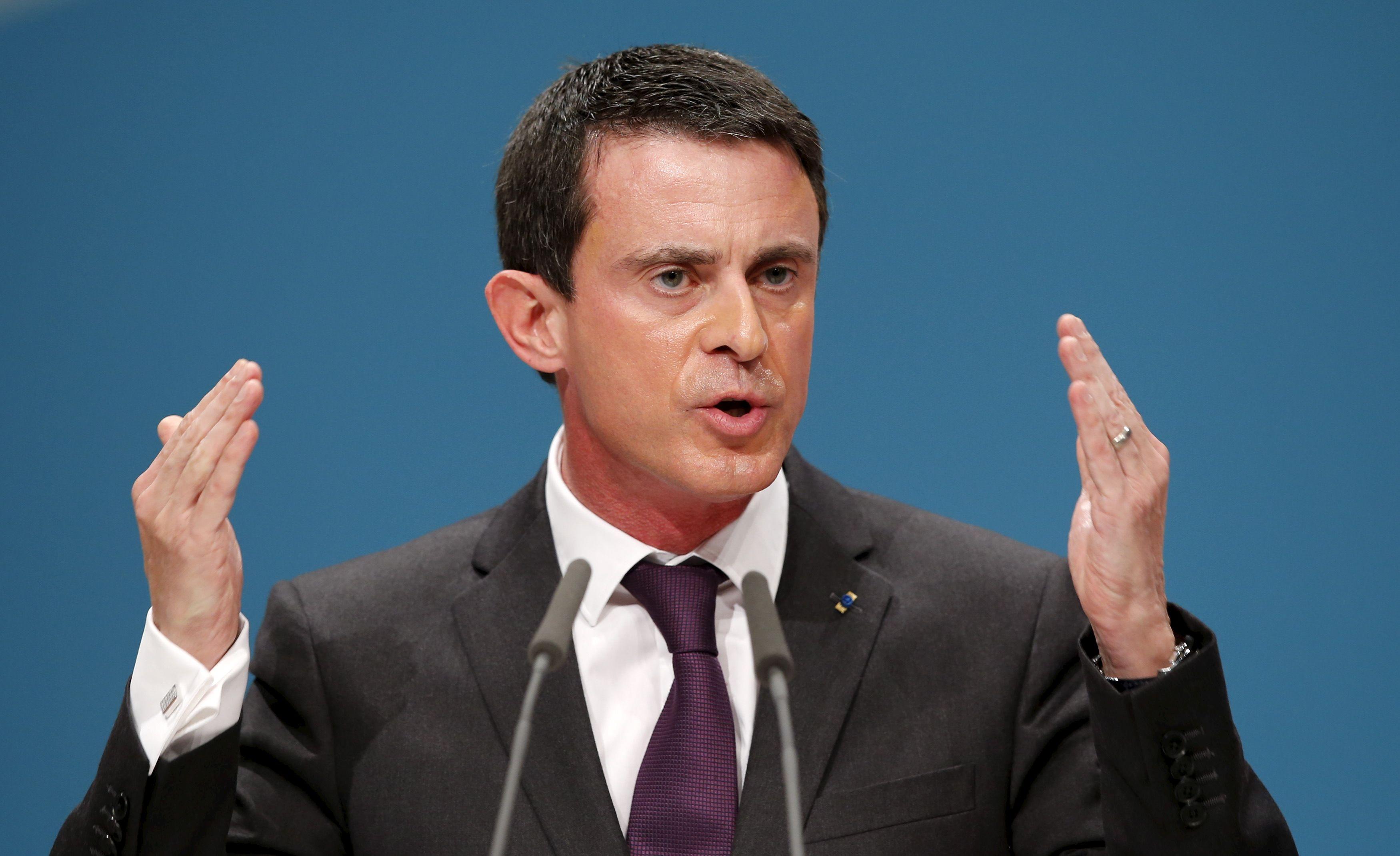 """Manuel Valls a reconnu que ces arrivées constituaient """"un défi considérable"""""""