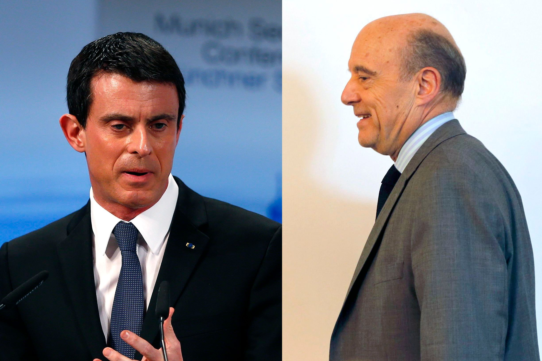 Vers un affrontement Juppé-Valls à la place du match retour annoncé Sarkozy-Hollande ?