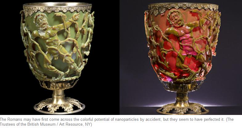 Les Romains, pionniers des nanotechnologies