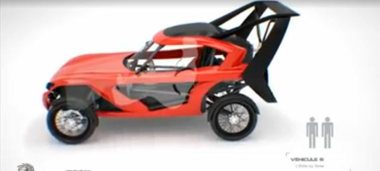 Pégase, la première voiture volante est déjà la cible de l'armée