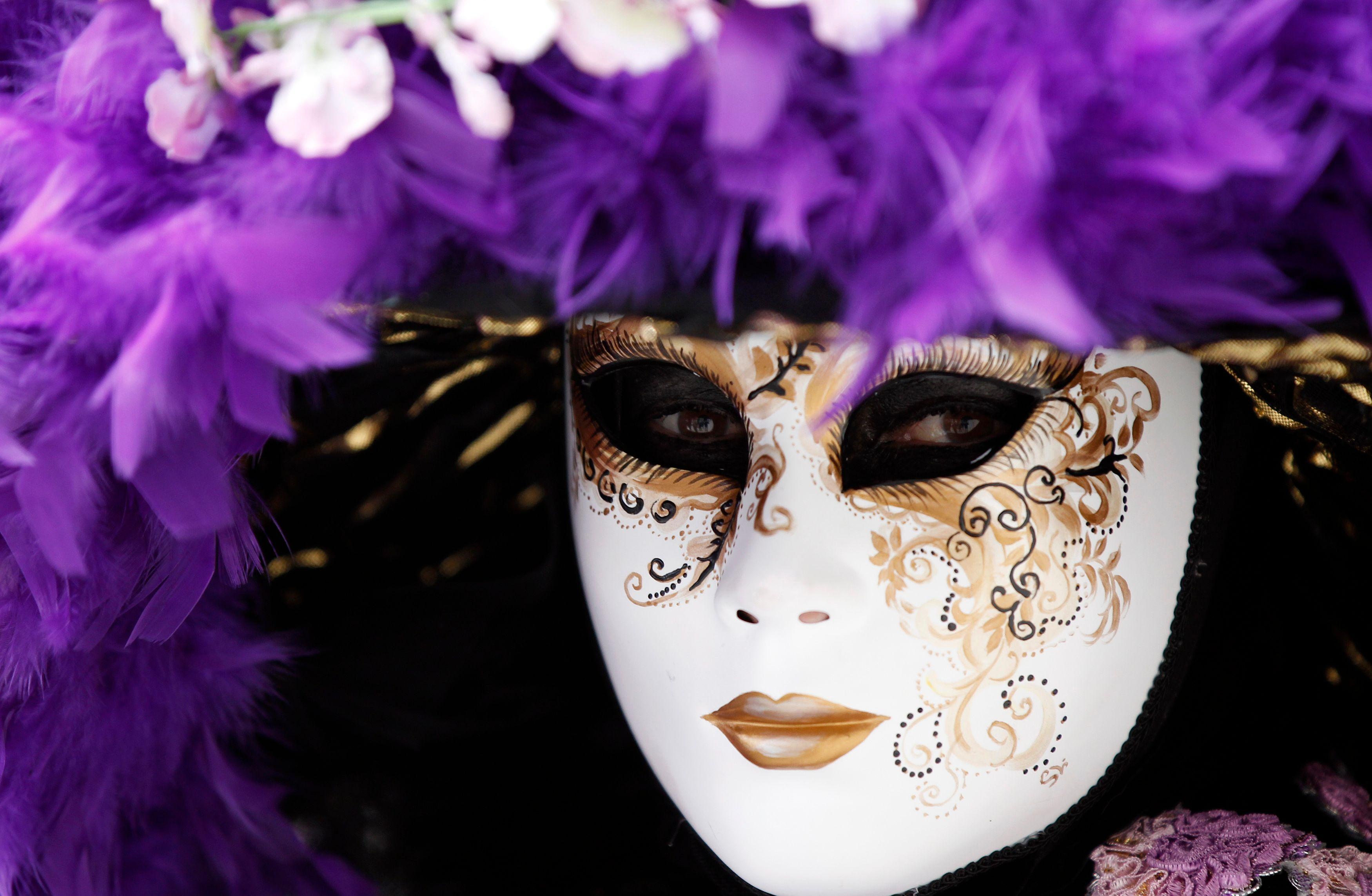 Photo d'illustration / Masque du carnaval de la ville de Venise.
