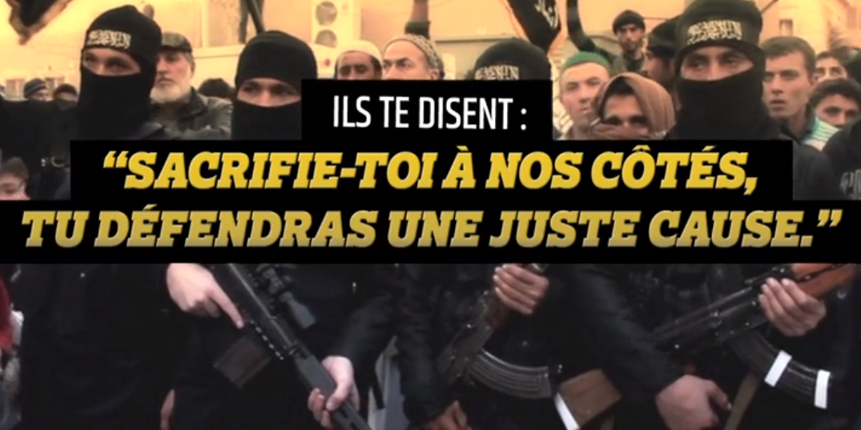 La vidéo choc du ministère de l'Intérieur
