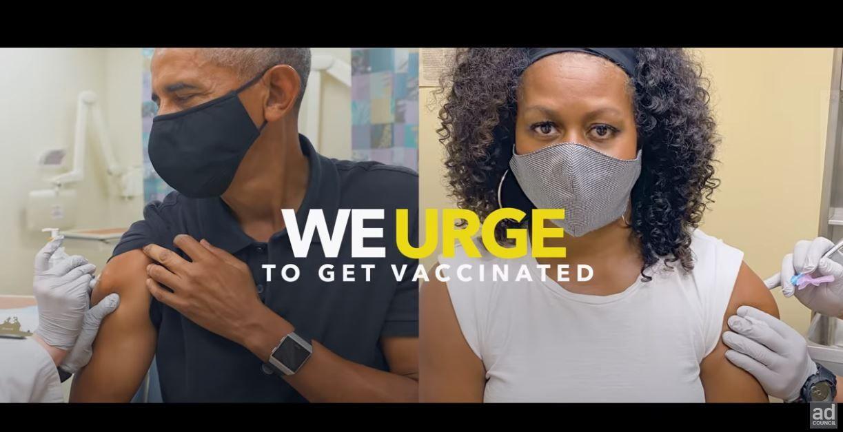 Les anciens présidents américains, dont Barack Obama, Bill Clinton et George Bush, incitent la population à se faire vacciner dans un clip