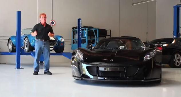 La Hennessey Venom GT est la voiture la plus rapide du monde.