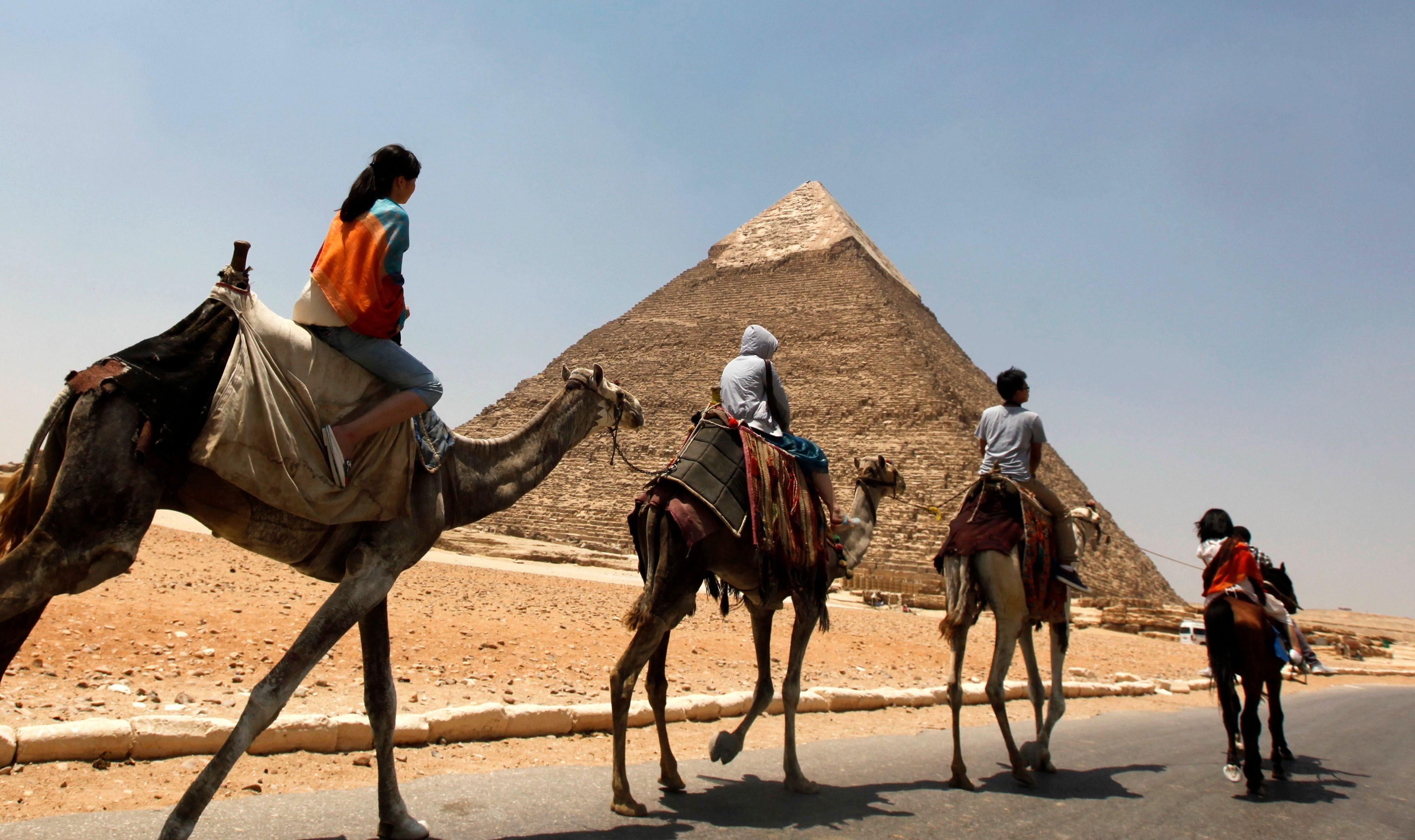 Le tourisme français vers l'Egypte accuse une baisse de plus de 80% par rapport aux chiffres d'il y a trois ans.
