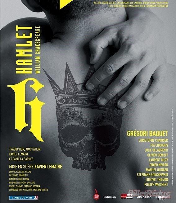 """""""Hamlet"""" : un grand moment de théâtre, tout simplement"""