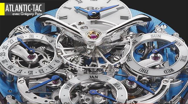 L'élégance visuelle d'unecomplexité mécanique qui tiendra sa grande promesse le 1er mars 2100. On a le temps…