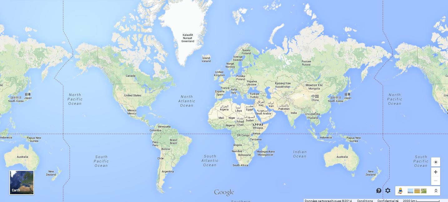 Google est en mesure de vous localiser via votre mobile et d'établir un historique de vos positions
