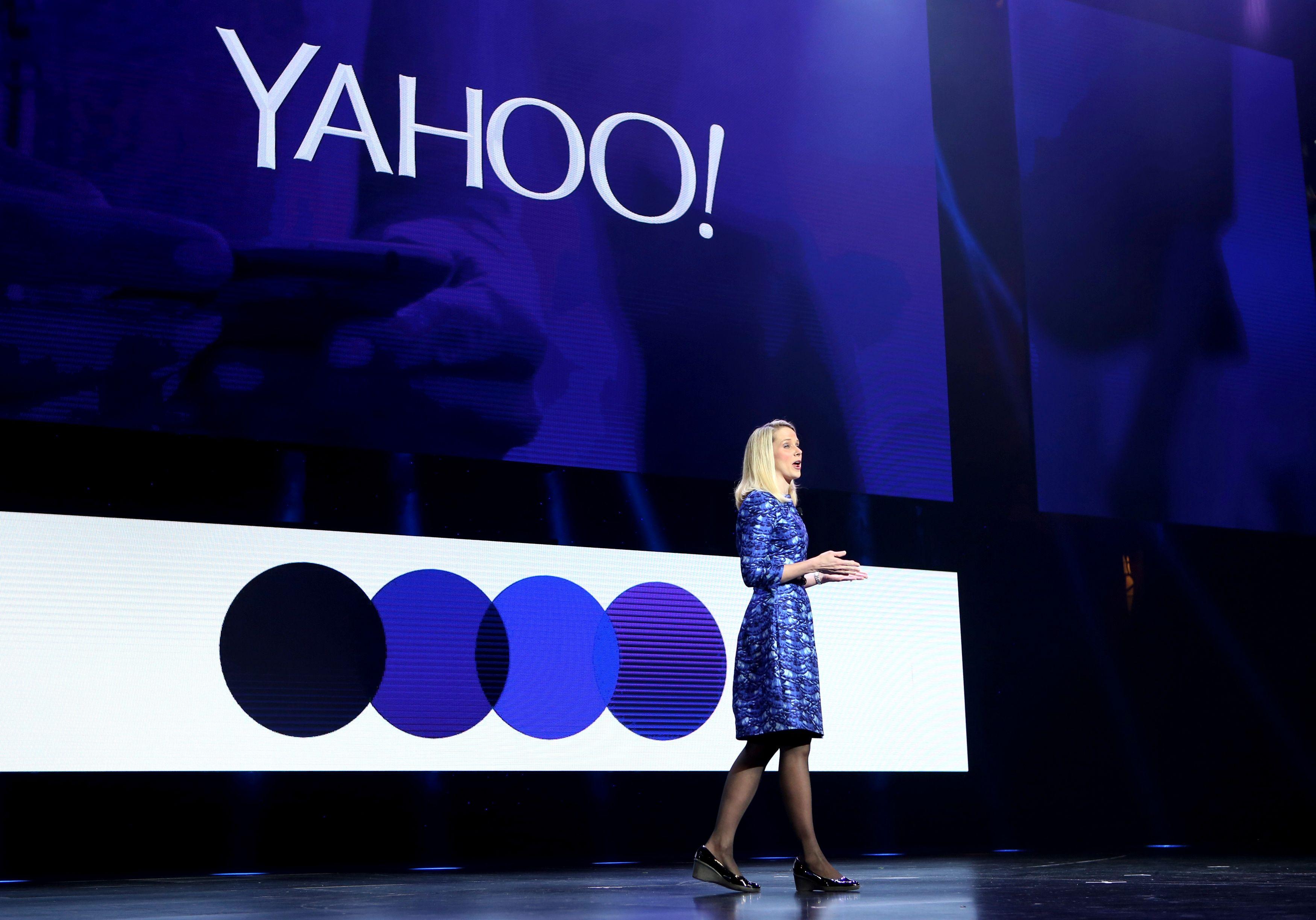 Marissa Mayer, PDG de Yahoo !
