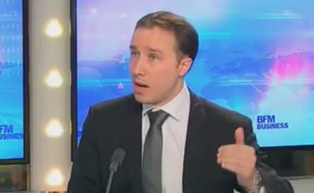 Yann Ricordel sur BFM Business. Le directeur général des Taxis Bleus est venu défendre la mobilisation des taxis parisiens.