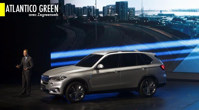 Présentation de la BMW X5 eDrive.