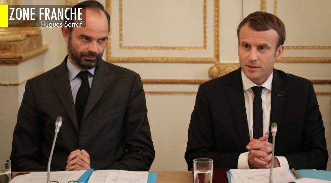 Forte baisse de la popularité d'Emmanuel Macron et d'Edouard Philippe