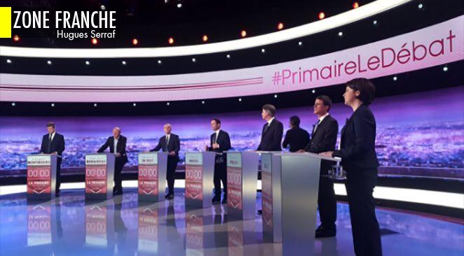 Benoît Hamon vainqueur d'un premier débat regardé par 3,8 millions de Français