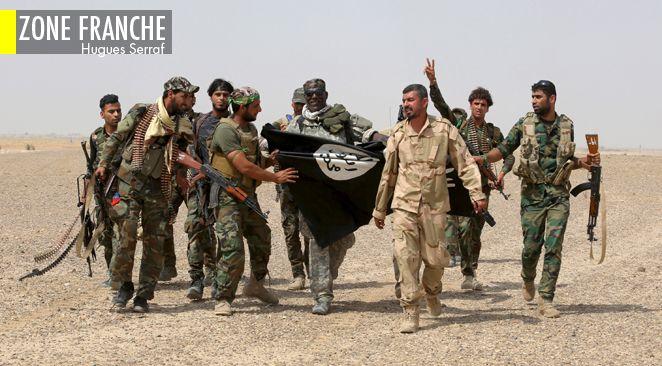 Un grand nombre de réfugiés syriens fuit les exactions de l'Etat islamique.