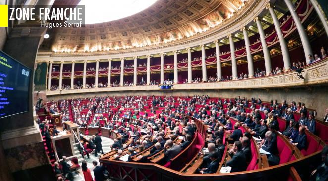 """Législatives : les candidats de La République en marche se désisteront en cas de """"risque FN"""", assure Christophe Castaner"""