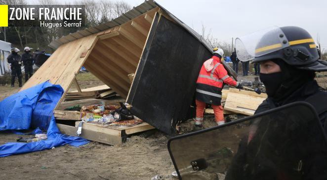 La jungle de Calais et comment ne pas s'en débarrasser